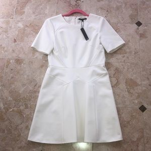 Brand New White Summer Tibi Dress